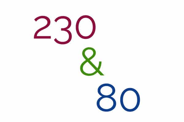 230 & 80