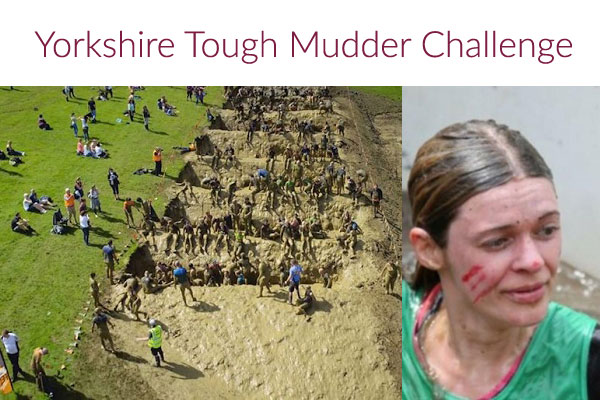 Katie's Tough Mudder Success